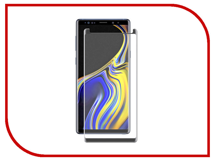 Купить Аксессуар Защитное стекло для Samsung Note 9 Zibelino TG 4D Black ZTG-4D-SAM-NOT9-BLK