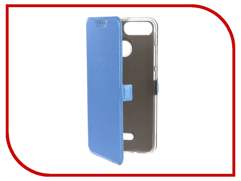 Купить Аксессуар Чехол для Xiaomi Redmi 6 Zibelino Sottile Silicon Blue ZSS-XIA-6-BLU