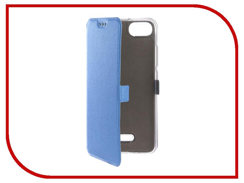 Купить Аксессуар Чехол для Xiaomi Redmi 6A Zibelino Sottile Silicon Blue ZSS-XIA-6A-BLU