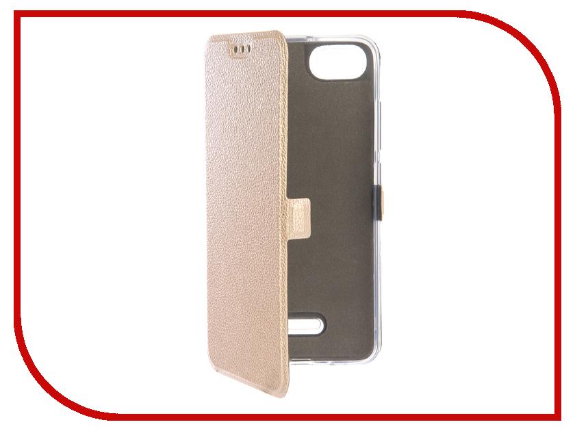 Купить Аксессуар Чехол для Xiaomi Redmi 6A Zibelino Sottile Silicon Gold ZSS-XIA-6A-GLD