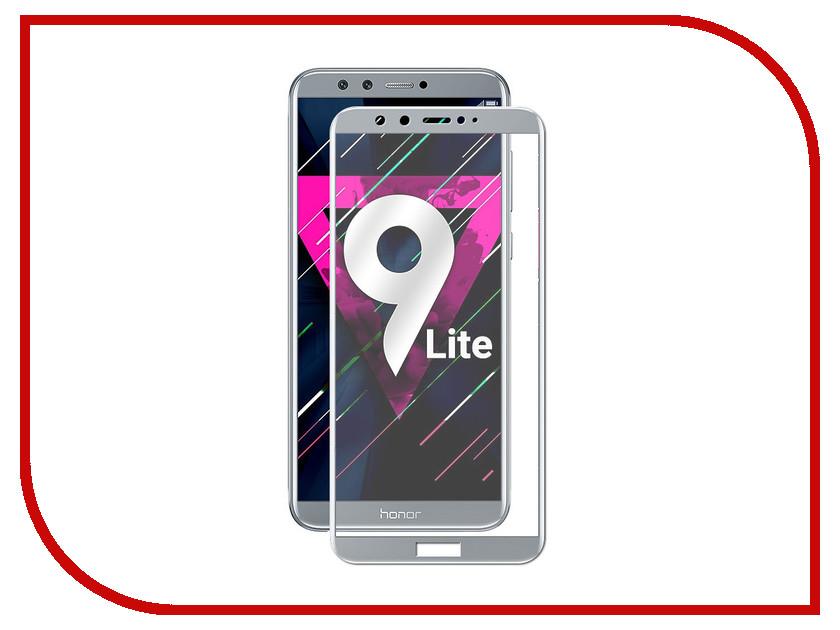 Купить Аксессуар Закаленное стекло для Honor 9 Lite DF Full Screen hwColor-36 Gray, Huawei Honor 9 Lite, DF-GROUP