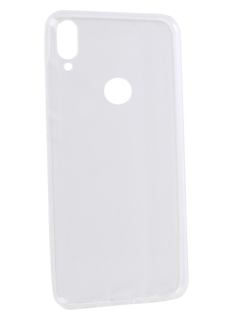 аксессуар чехол zibelino для asus zenfone max pro m1 zb602kl book black zb asus zb602kl blk Аксессуар Чехол DF для Asus ZenFone Max Pro M1 ZB602KL / ZB601KL Silicone Super Slim aCase-50