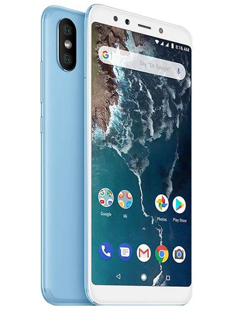 mi max 2 64gb Сотовый телефон Xiaomi Mi A2 4/64GB Blue