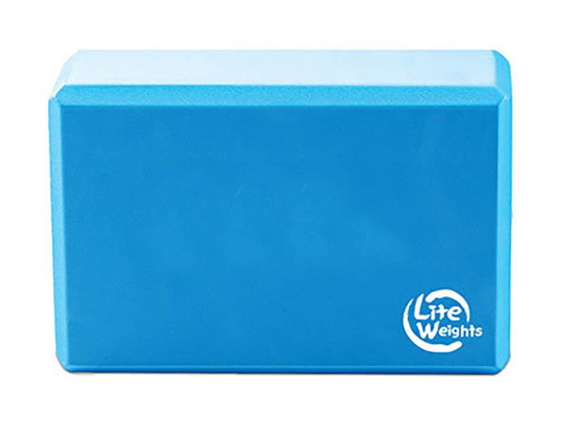 Блок для йоги Lite Weights Light Blue 5494LW