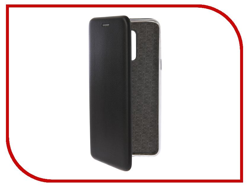 Купить Аксессуар Чехол-книга для Samsung Galaxy A6 Plus 2018 Innovation Book Silicone Black 12453