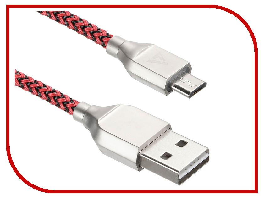 Купить Аксессуар ACD Titan MicroUSB - USB A 1.0m Red-Black ACD-U927-M1R