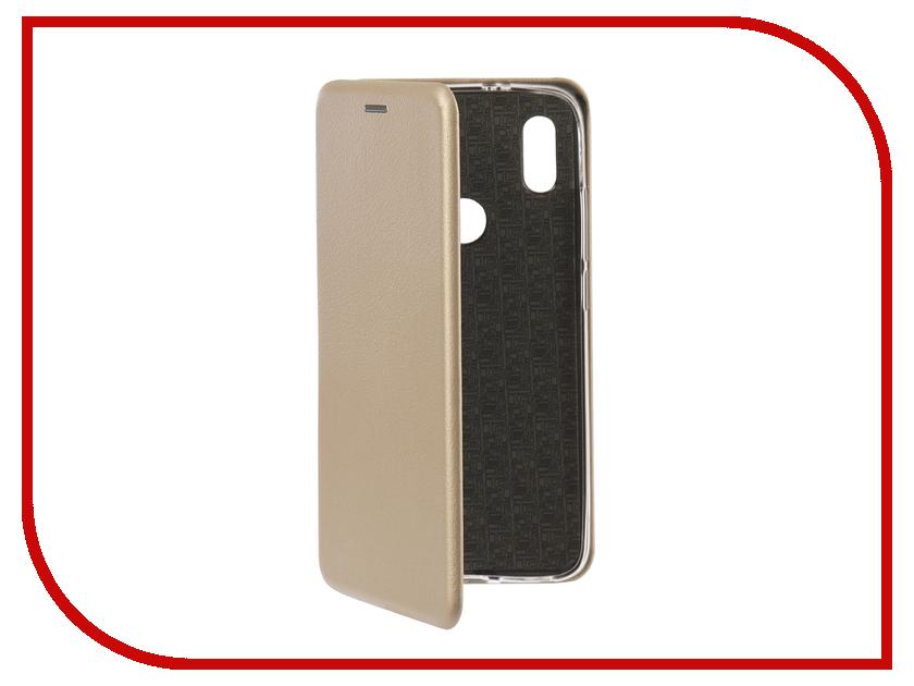 Купить Аксессуар Чехол для Xiaomi Redmi S2 Innovation Book Silicone Gold 12470