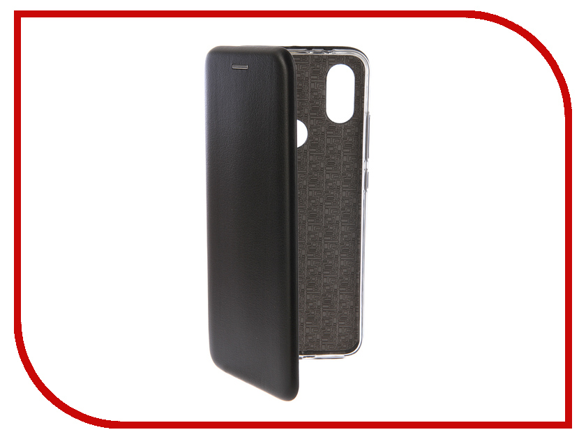 Купить Аксессуар Чехол-книга для Xiaomi Mi A2 Innovation Book Silicone Black 12478