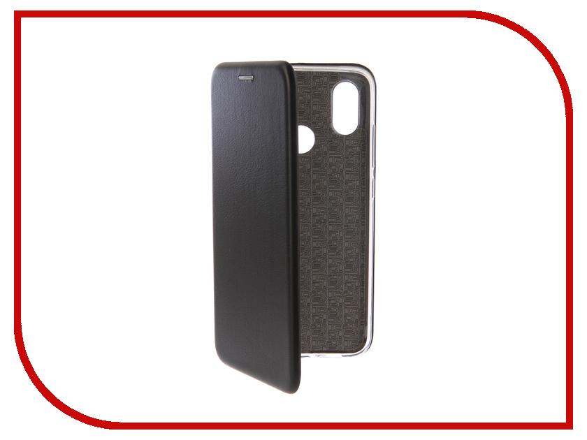 Купить Аксессуар Чехол-книга для Xiaomi Mi 8 Book Innovation Book Silicone Black 12483