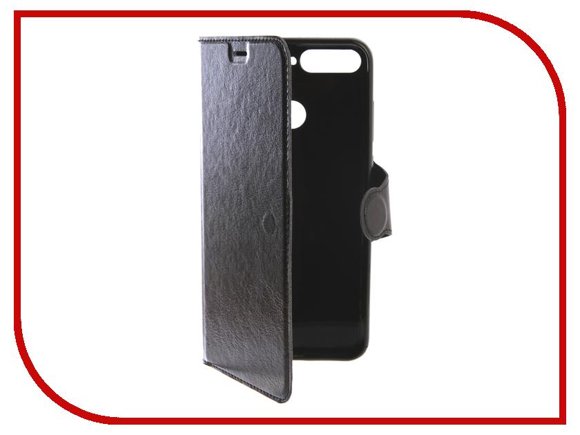 Купить Аксессуар Чехол-книжка для Huawei Y6 Y6 Prime 2018 Red Line Book Type Black, УТ000015782
