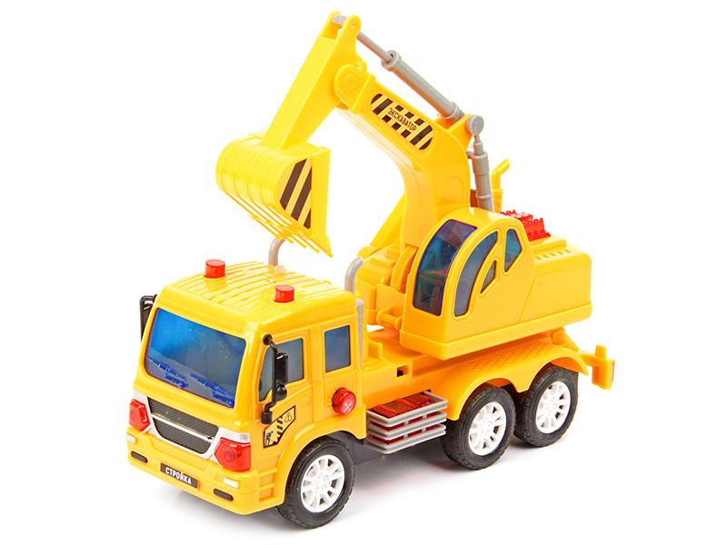 игрушка наша игрушка экскаватор снегоуборочный 6655 6 Игрушка Drift Экскаватор 70380