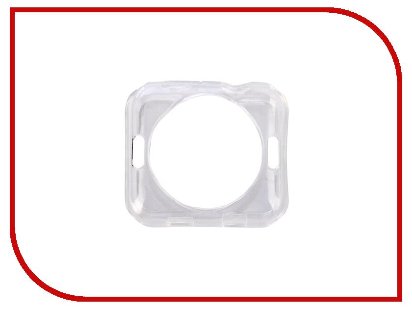 Купить Аксессуар Чехол EVA Silicone для APPLE Watch 42mm Transparent AWC005T