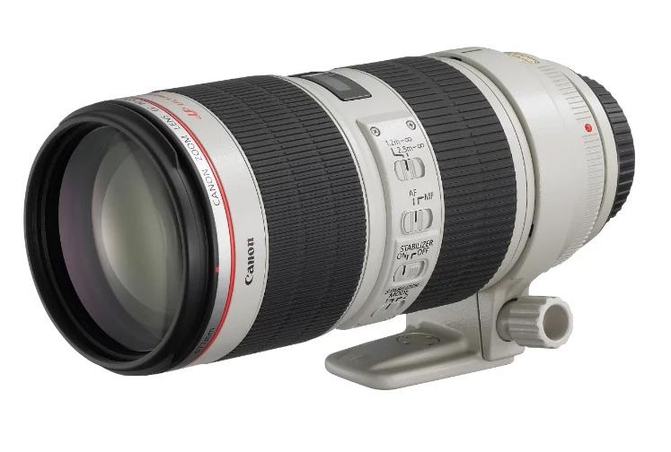 фотоаппарат canon eos 77d kit ef s 18 135 mm f 3 5 5 6 is usm Объектив Canon EF 70-200mm f/2.8L IS III USM
