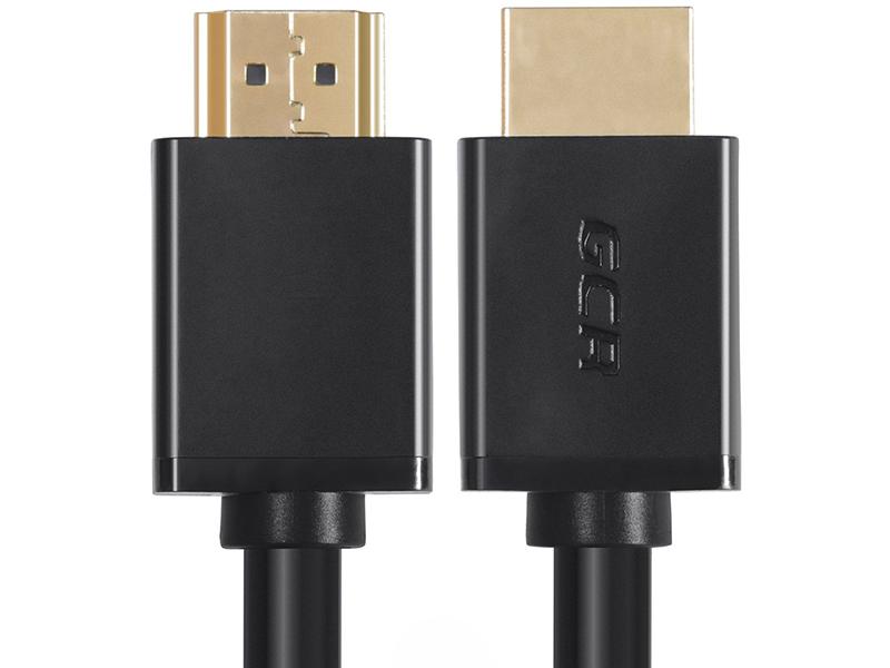 Фото - Аксессуар GCR HDMI 0.3m Black GCR-HM451-0.3m аксессуар gcr hdmi m m v2 0 1m black red gcr hm451 1 0m