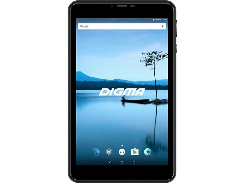 планшет asus zenpad z301mfl 10 32gb lte grey 1h006a Планшет Digma Plane 8021N LTE Black (MediaTek MTK8735V 1.0 GHz/1024Mb/16Gb/GPS/LTE/4G/Wi-Fi/Bluetooth/Cam/8.0/1280x800/Android)