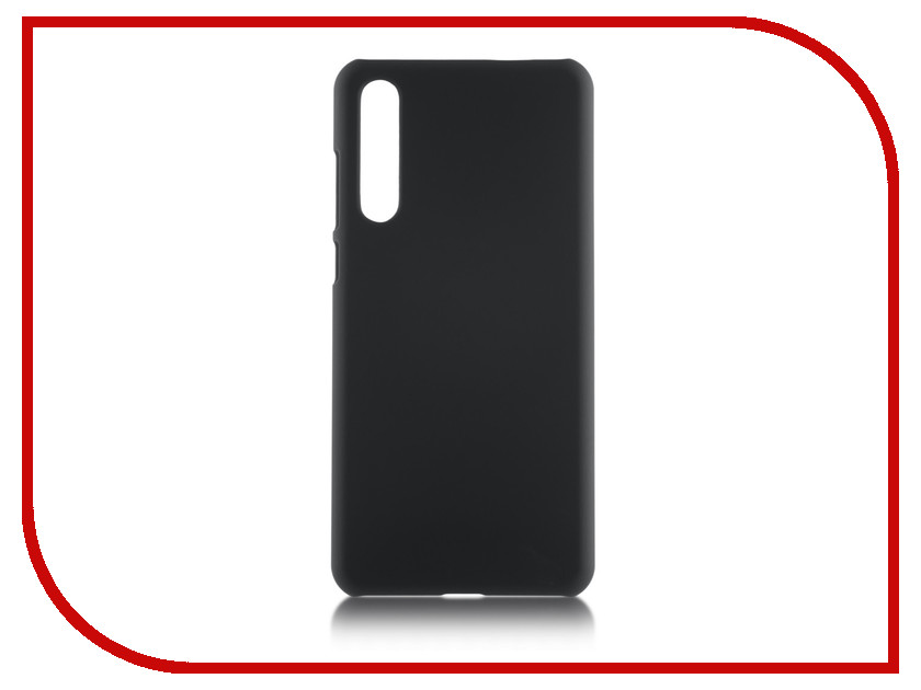 Купить Аксессуар Чехол для Huawei P20 Pro Brosco SoftTouch Black HW-P20P-SOFTTOUCH-BLACK