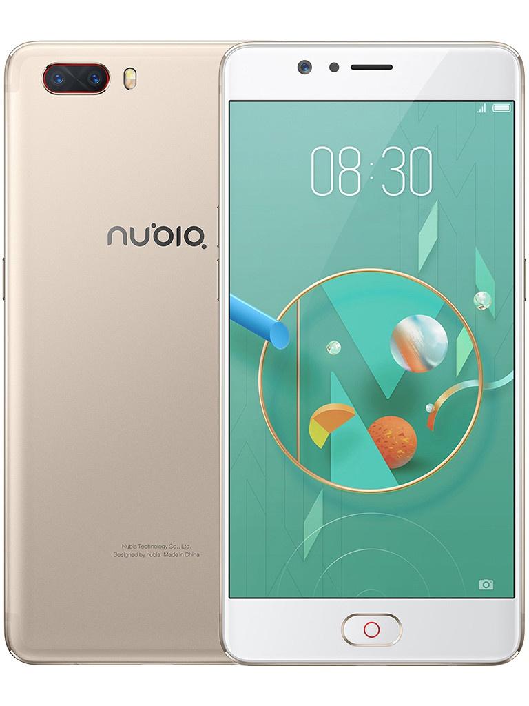 сотовый телефон asus zenfone max m2 zb633kl 64gb blue Сотовый телефон Nubia M2 64GB Golden