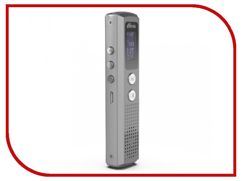 Купить Диктофон Ritmix RR-120 4Gb Silver