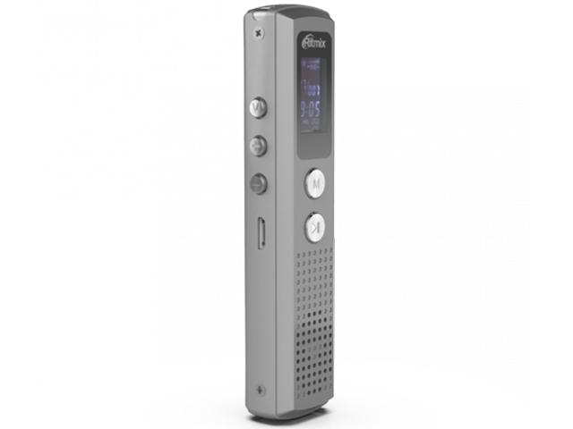 panasonic rr xs410 Диктофон Ritmix RR-120 4Gb Silver