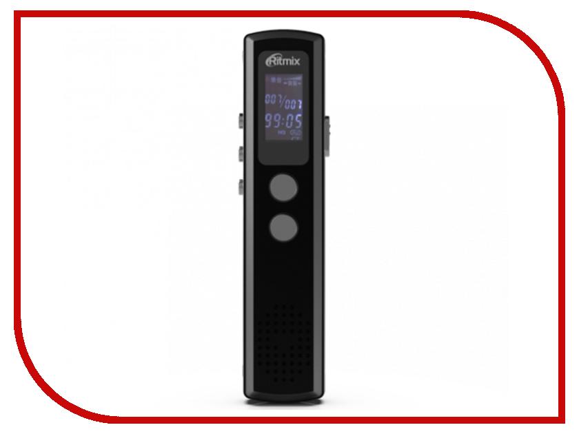 Купить Диктофон Ritmix RR-120 4Gb Black