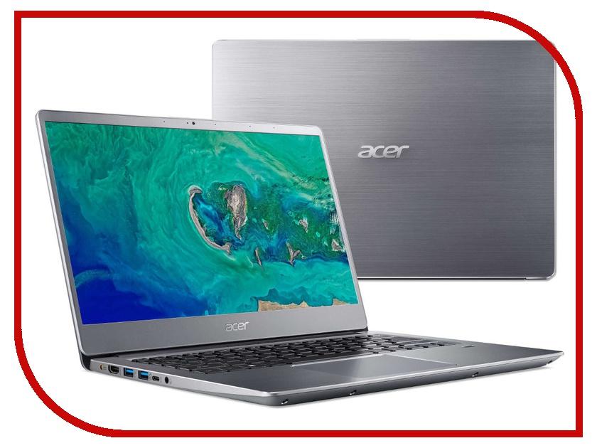 Купить Ноутбук Acer Swift SF314-54G-5201 NX.GY0ER.005 Silver (Intel Core i5-8250U 1.6 GHz/8192Mb/256Gb SSD/No ODD/nVidia GeForce MX150 2048Mb/Wi-Fi/Cam/14.0/1920x1080/Linux)