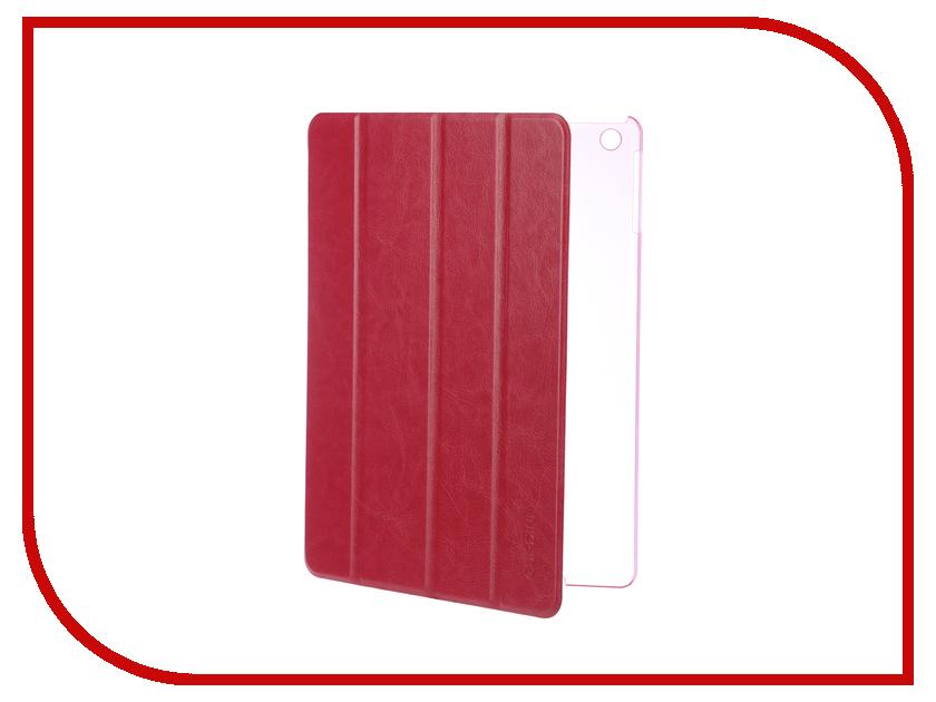 Купить Аксессуар Чехол для APPLE iPad Air / iPad New 2017-2018 Gurdini Slim Eco кожа Crimson 520048