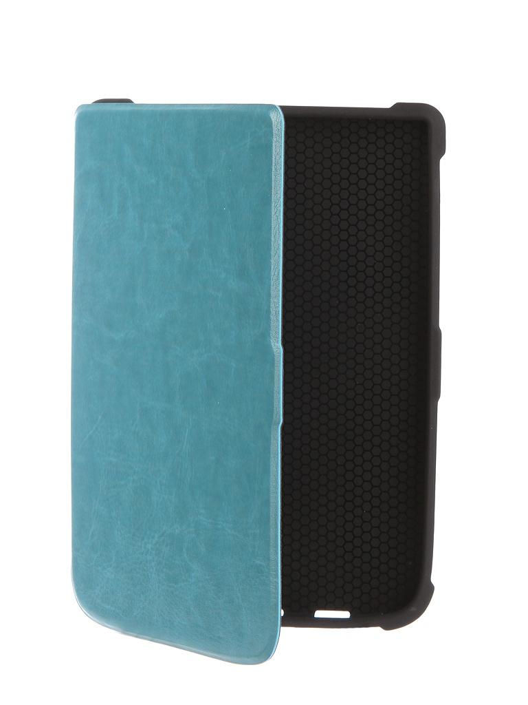 Zakazat.ru: Аксессуар Чехол TehnoRim для PocketBook 616/627/632 Slim Light Blue TR-PB616-SL01BLU