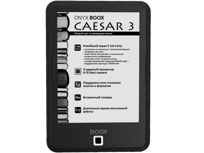 columbus onyx boox c67sml columbus Электронная книга ONYX BOOX Caesar 3 Black