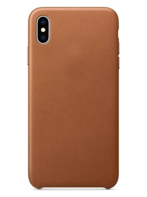 Купить Аксессуар Чехол APPLE iPhone XS Max Leather Case Saddle Brown MRWV2ZM/A