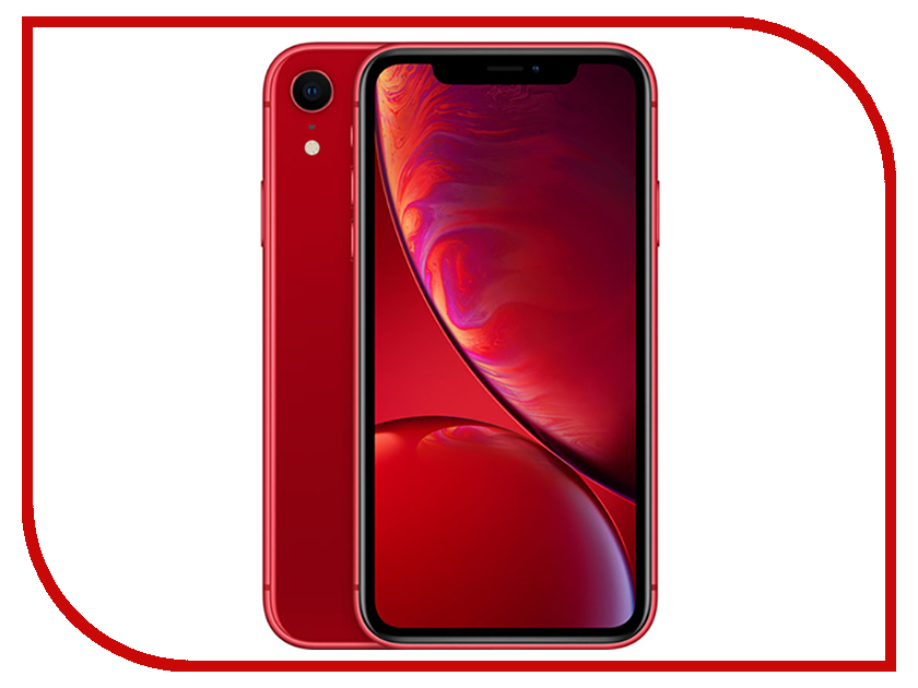 Сотовый телефон APPLE iPhone XR - 128Gb Product Red MRYE2RU/A  - купить со скидкой