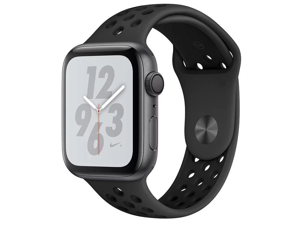 Умные часы APPLE Watch Nike+ Series 4 40mm Space Grey Aluminium Case with Anthracite-Black Nike Sport Band MU6J2RU/A