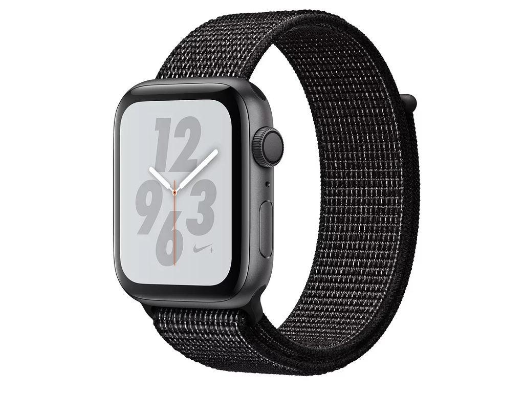 Умные часы APPLEWatch Nike+ Series4 40mm Space Grey Aluminium Case with Black Nike Sport Loop MU7G2RU/A