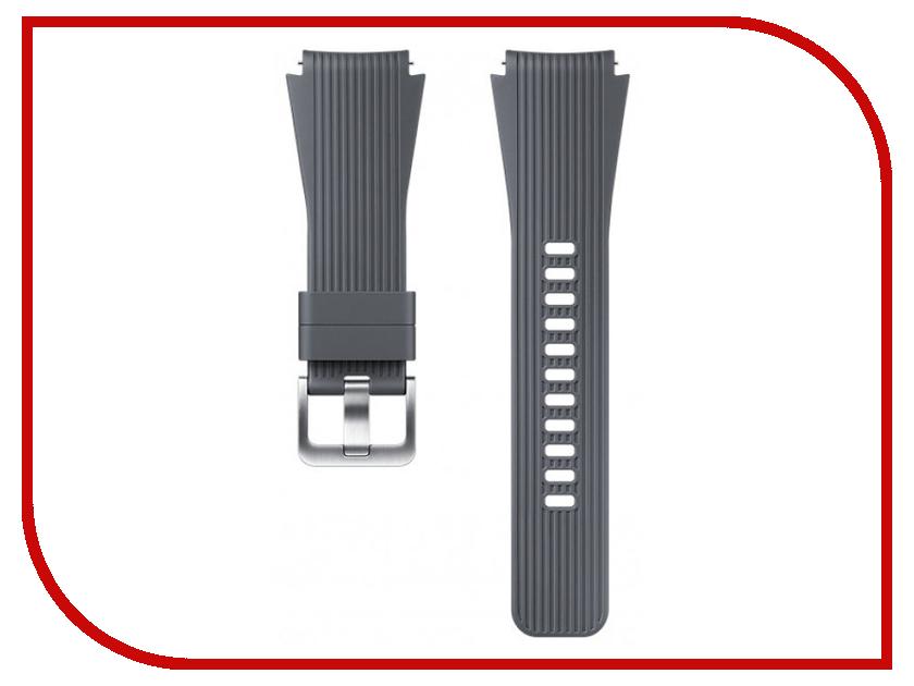 Купить Аксессуар Ремешок Samsung Galaxy Watch 46mm Silicone Grey ET-YSU80MJEGRU