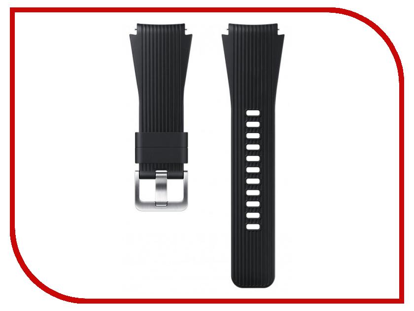 Купить Аксессуар Ремешок Samsung Galaxy Watch 46mm Silicone Black ET-YSU80MBEGRU