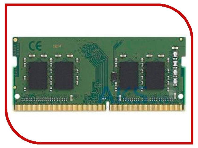 Купить Модуль памяти Kingston DDR4 SO-DIMM 2666MHz PC-21300 CL19 - 4Gb KVR26S19S6/4