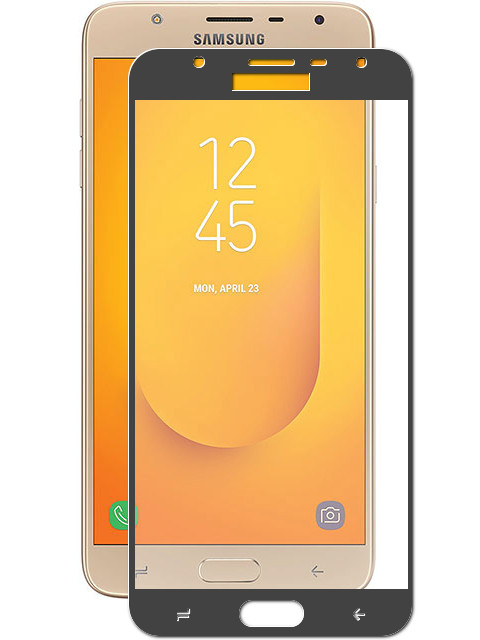 галакси j7 Аксессуар Защитное стекло Krutoff Full Screen для Samsung Galaxy J7 Duo Black 02613