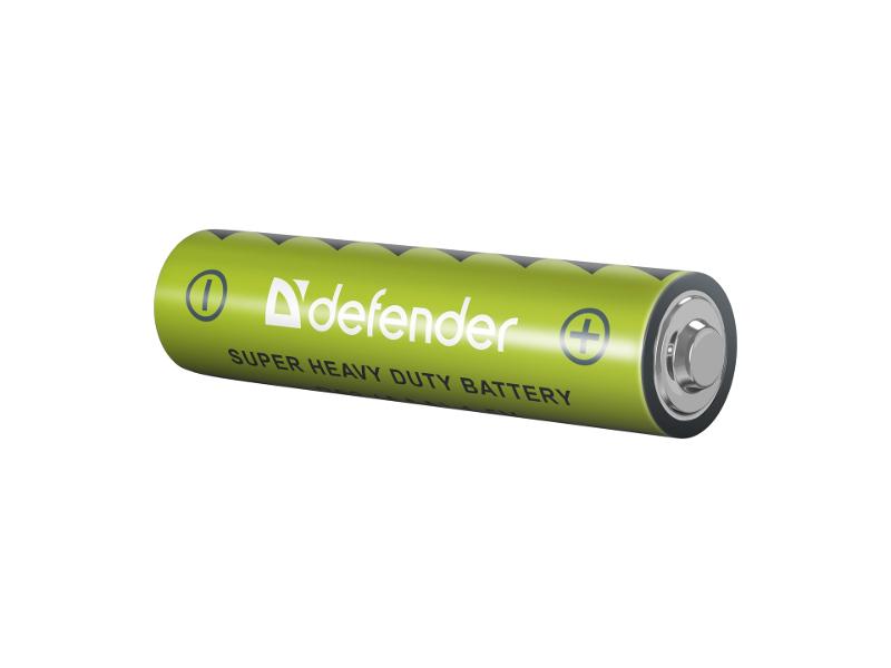 Батарейка AAA - Defender R03-4F (4 штуки) 56101 батарейка aaa energizer eveready r03 1 5v 4 штуки e301156200