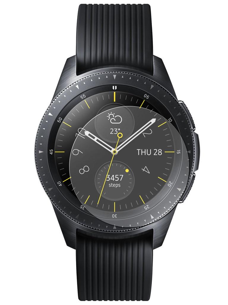 часы цена самсунг gear s Аксессуар Защитное стекло для Samsung Gear S4 42mm Red Line Tempered Glass УТ000016318