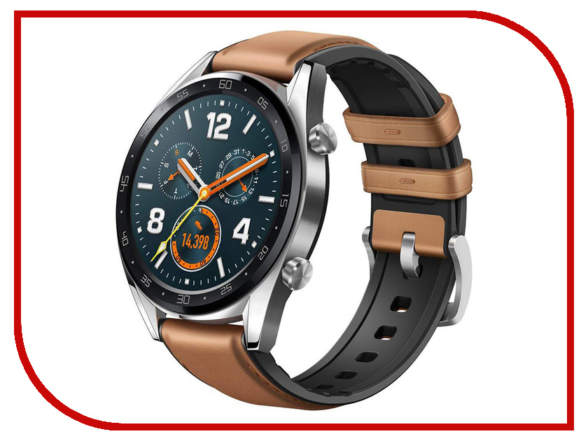 Купить Умные часы Huawei Watch GT Brown, Watch GT FTN-B19