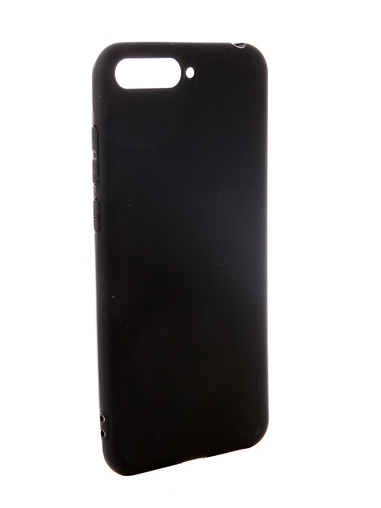аксессуар чехол pero для xiaomi mi max 2 soft touch black prstc mmax21b Аксессуар Чехол Pero для Huawei Y6 2018 Soft Touch Black PRSTC-Y618B
