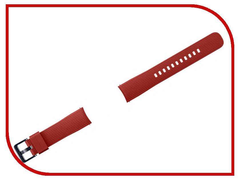 Купить Аксессуар Ремешок Samsung Galaxy Watch 42mm Silicone Red ET-YSU81MREGRU