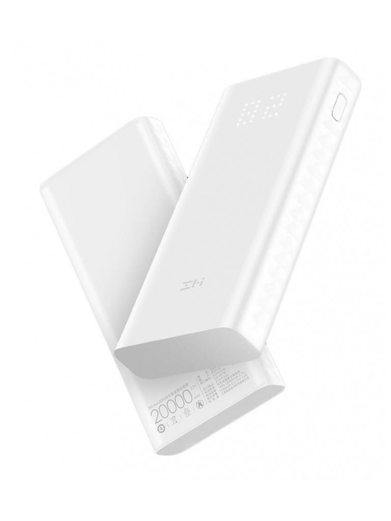 Внешний аккумулятор Xiaomi ZMI Power Bank Aura QB821 20000mAh White внешний аккумулятор hiper power bank mpx20000 20000mah gold