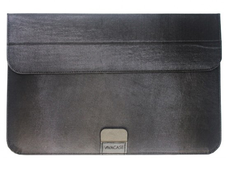 аксессуар чехол 15 inch dell professional 460 bcfj Аксессуар Чехол-папка 15-16-inch Vivacase для MacBook Air Business Black VCN-FBS160-bl
