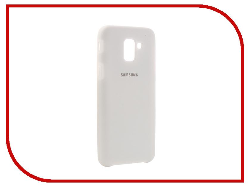 Купить Аксессуар Чехол Innovation для Samsung Galaxy J6 2018 Silicone White 12638