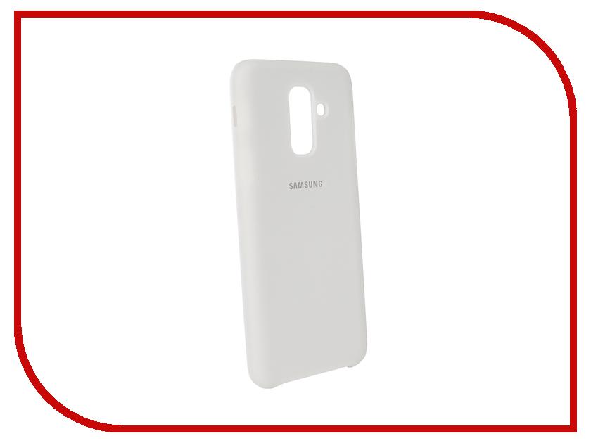 Купить Аксессуар Чехол Innovation для Samsung Galaxy A6 Plus 2018 Silicone White 12628