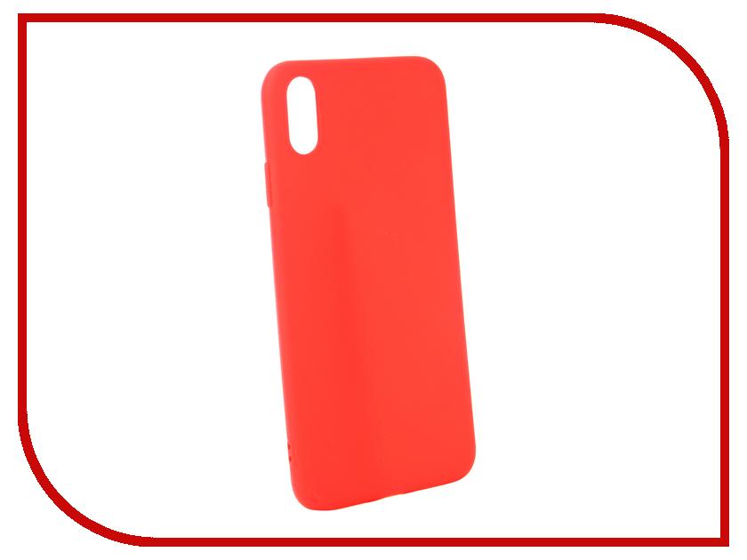 Купить Аксессуар Чехол для APPLE iPhone XS Max Zibelino Soft Matte Red ZSM-APL-XSMAX-RED
