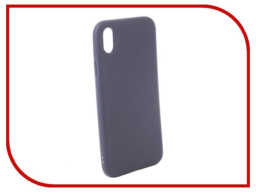 Купить Аксессуар Чехол для APPLE iPhone XR Zibelino Soft Matte Blue ZSM-APL-XR-BLU