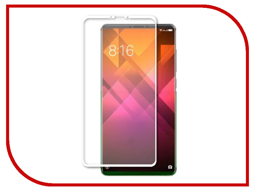 Купить Аксессуар Противоударное стекло Innovation для Xiaomi Mi 7 Plus 2D Full Glue Cover White 12759