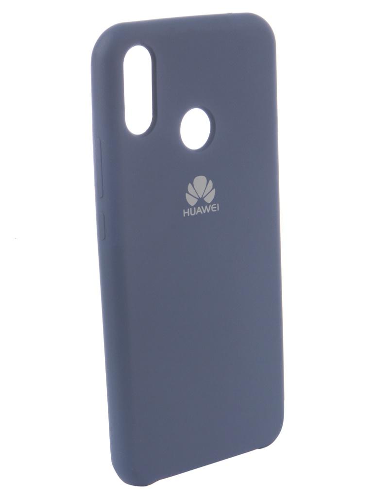 аксессуар чехол innovation для huawei nova 3 black 14275 Аксессуар Чехол Innovation для Huawei Nova 3i Silicone Blue 12829