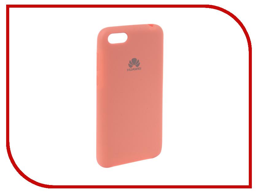 Купить Аксессуар Чехол для Huawei Y5 2018 Innovation Silicone Pink 12835